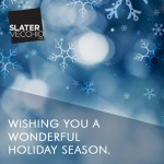 Happy Holidays from Slater Vecchio!