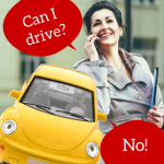 Too Distracted to Drive? Ask Your Car