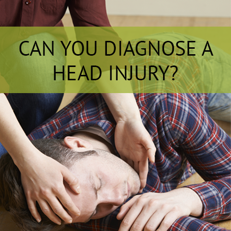 can you diagnose a head injury