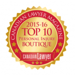 Slater Vecchio Voted a Top 10 Personal Injury Law Firm