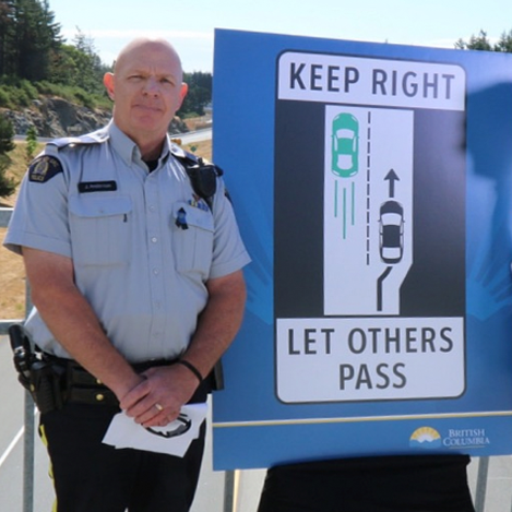 left lane drivers get fines