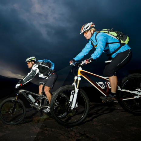 biking at night safety tips