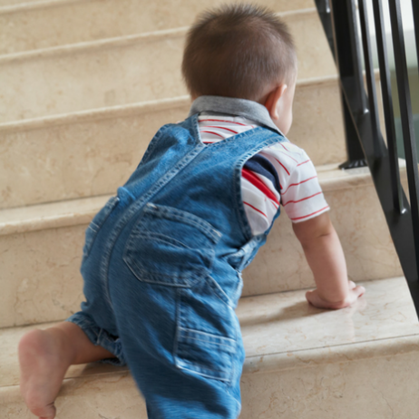 BLOG childproofing stairways for safety