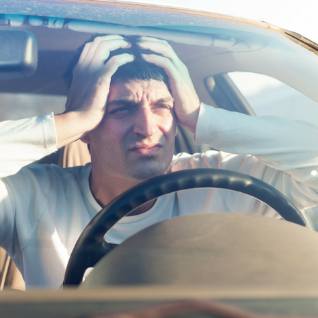 driving with a concussion